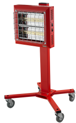 Portable, With 2 Lockable Wheels