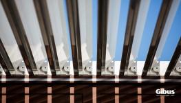 Gibus Med Twist | Bioclimatic Aluminium Pergola - Heat My Space & Alfresco365