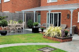 Glass Veranda / Polycarbonate Canopy - 10 YEAR guarantee image