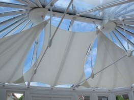 Interior Shade Sails / Conservatory Shade Sails image