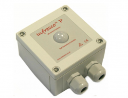 Infresco P 4kW – Passive infrared (PIR) & Intelligent Controller for Quartz Infrared Halogen Lamps (turns on when people are present) Temperature Sensor + Soft-Start image