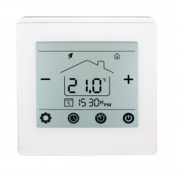 Herschel iQ MD1 Wired Thermostat | Turns Herschel Heater(s) ON if Room Temp is Lower than Preset Temp  & OFF Once Desired Temperature is Reached image
