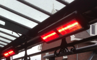 Low Glare Horse Heaters Pro Pack + Push Button Timer | Save £59! - Heat My Space & Alfresco365