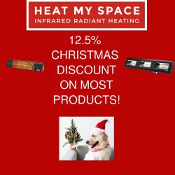 12.5% OFF MOST HEAT MY SPACE PRODUCTS!
