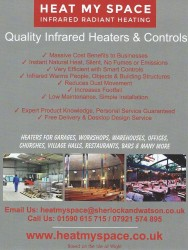 HEAT MY SPACE Answers - Why Choose Infrared Heating? Go Electric, Go Green!