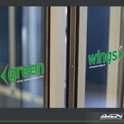 We call our PST automatic sliding door system 'Green Wings' due to its environmental properties. The Green-Wings system helps buildings to retain more heat, reduce carbon footprint and maintain a more comfortable environment for users....