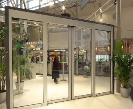 Gilgen PST Thermally Insulated Automatic Sliding Door - Gilgen Door Systems UK Ltd
