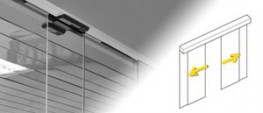 The state-of-the-art Gilgen SLX-M drive unit is combined with the matching PSF profile system to offer a stylish, full-glass entry solution for indoor applications such as shop-in-shop outlets and office partitions....