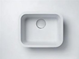 When a conventional kitchen bowl is needed, look no further than DuPont™ Corian® 859 Large Single Sinks. With a bowl that provides plenty of width and depth, DuPont™ Corian® 859 Large Single Sinks are popular for kitchen installations requiring a large r...