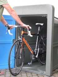 Lockerpod - Single Bike Storage Locker - Cycle Parking - Cyclepods