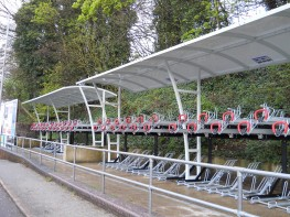 Brighton Two-Tier Shelter - Double Height Shelter - Cycle Parking image