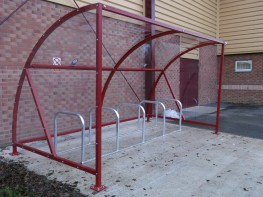 Canterbury Bike Shelter - Classic, Versatile Bike Shelter - Cycle Parking image