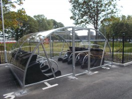 Canterbury 20 Bike Compound - Lockable Shelter Compounds for Bikes - Cycle Parking image