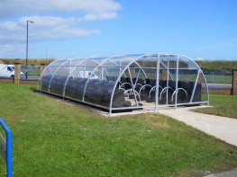 Canterbury 40 Bike Compound - Lockable Shelter Compounds for Bikes - Cycle Parking image