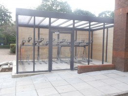 Ascot Cycle Compound - Enclosed Compound for Bike Storage - Cycle Parking image