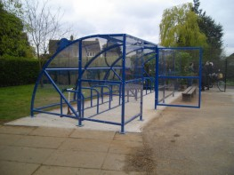 Canterbury Slimline Shelter - Versatile Shelter or Compound for Bike Storage - Cycle Parking image
