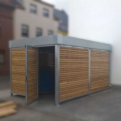 Ascot Mini Cycle Store - Stylish, Compact Bike Storage - Cycle Parking image