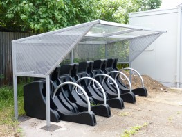 Manchester Shelter - Modern Style Shelter - Cycle Parking image