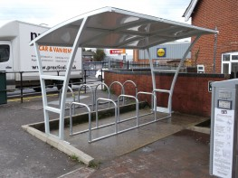 Junior Brighton Shelter - Single Level Shelter - Cycle Parking image
