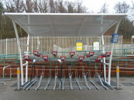 CapaCITY - Two-Tier Bike Racks - Cycle Parking image