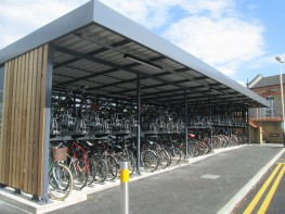 CapaCITY - Two-Tier Bike Racks - Cycle Parking - Cyclepods