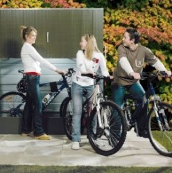 Bike Lift-A-Locker - Cycle Parking - Cyclepods
