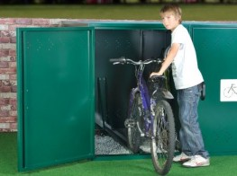 Horizontal Bike Locker - Cycle Parking image