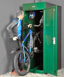 Vertical Bike Locker - Cycle Parking - Cyclepods