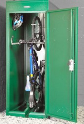 Vertical Bike Locker - Cycle Parking image