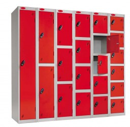 3 Door Kit Locker - Changing Room/Facility Lockers - Cyclepods