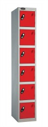 6 Door Kit Locker - Changing Room/Facility Lockers image