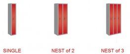 6 Door Kit Locker - Changing Room/Facility Lockers - Cyclepods