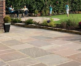 Indian Sandstone Paving image
