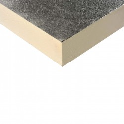 A high performance PIR insulation with Class 0 fire performance suitable for use across multiple applications. With a high compressive strength that exceeds 150kPa at yield and featuring a low emissivity aluminium embossed facing, this specialist product is su...
