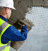Cavity Drain Membrane for internal use. BBA approved; HDPE cavity drain membrane for direct plastering; single component, no mesh or fabric layer; unique undercut stud design creates mechanical key for plaster; easy to cut, fix and seal; impermeable to water, ...