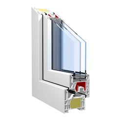 KBE 76 centre seal system passive house image