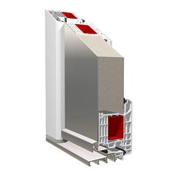 KBE System_88mm residential door with intersash panelling image