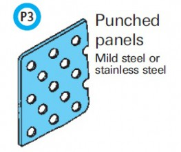 Spectrum Balustrade Infill - Punched Panels image