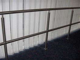 Spectrum Balustrade Systems have a modular system which offers the versatility to meet virtually any design requirement, no matter how complex. Engineered to close tolerances, with quality formed bends eliminating the need for unsightly mitred joints. Componen...