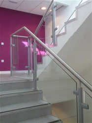 Spectrum Balustrade Infill - Toughened Glass image