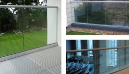 Clearline Structural Glass Balustrade - 19 mm - NEACO
