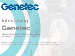 ievo Ltd Announce Technology Partnership with Genetec Inc.