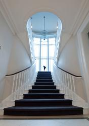 Curved Feature Stairs image