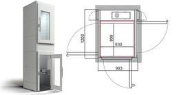 CIBES A4000 - Small Home Platform Lift - Cibes Lift UK