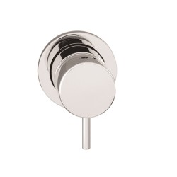 Flow Basin Mono Wall Mixer without spout: 