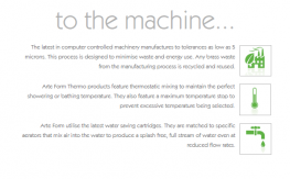FLOW Bath Mono Floor Standing Thermo Mixer FL.341CF-2T - ARTE FORM