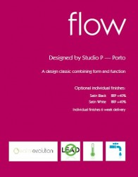 FLOW Bath Deck Filler FL.332CD - Chrome Only - ARTE FORM