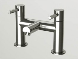 Flow Bath Deck Filler - CHROME ONLY: