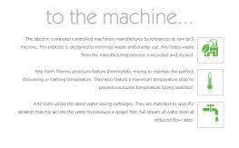 FLOW Thermo Shower Valve FL.511CR-1 - ARTE FORM