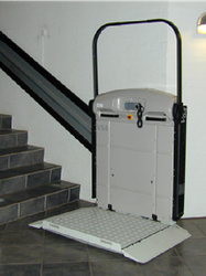 IPL100 Inclined Platform Lift image